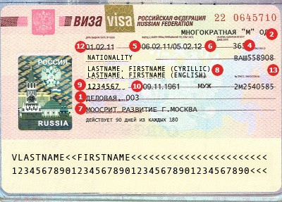 Actual travel visas samples get a russia travel visa thecheapjerseys Choice Image